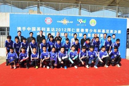 RSC.-Yingli Solar organiza las finales de la FC Bayern Youth Cup en China
