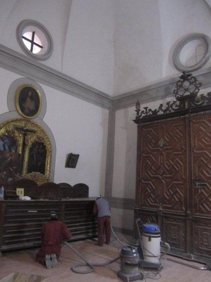 Concluye la restauración de la Sacristía de la Catedral de Albarracín (Teruel)