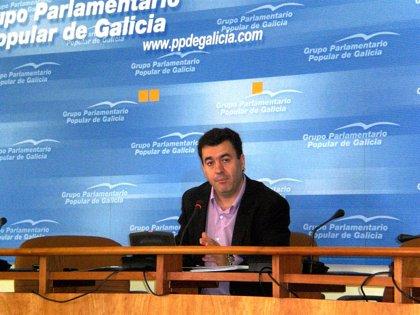 """El PPdeG critica la """"poca vergüenza"""" de José Blanco por """"atreverse a criticar"""" la inversión de Fomento en Galicia"""