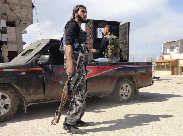 Miembros Del Ejército Libre De Siria
