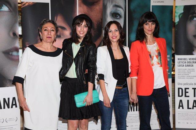 Luisa Gavasa, Leticia Dolera, Paula Ortiz Y Maribel Verdú