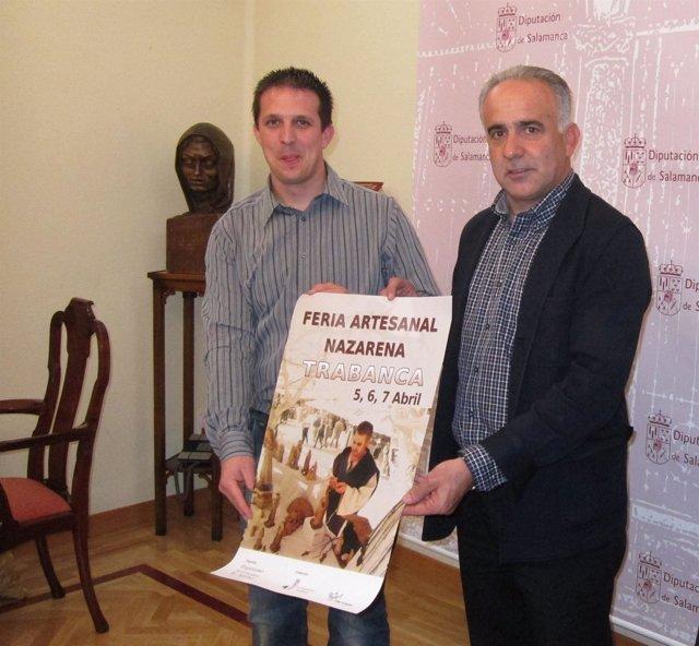 El Alcalde De Trabanca Y El Delegado De Agricultura De La Diputación.
