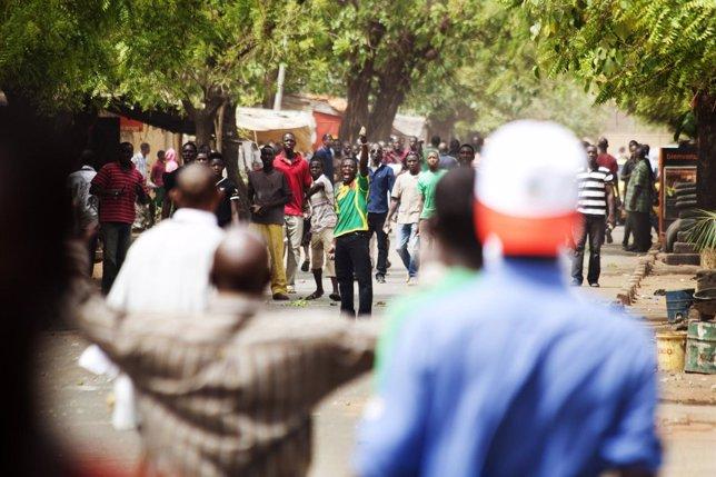 Altercados Tras El Golpe De Estado En Malí