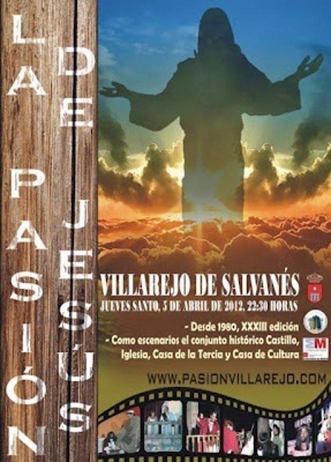 Cartel De La Pasión Viviente De Villarejo De Salvanés