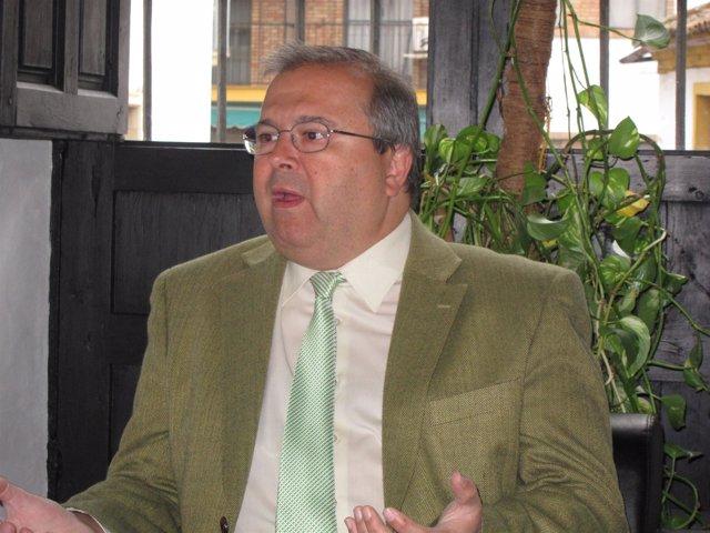 El Concejal De Cultura Juan Miguel Moreno Calderón