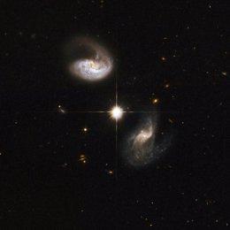 estrella en la Vía Láctea