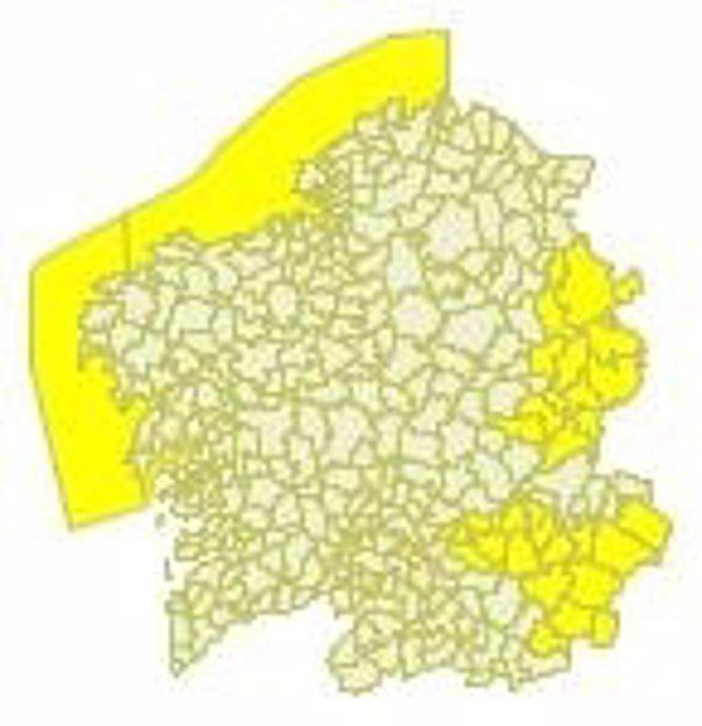 Alerta En Las Montalñas De Lugo Y Ourense Y En El Litoral De A Coruña