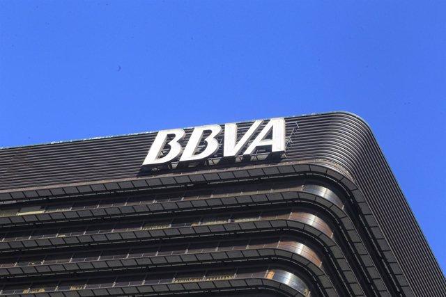 Recurso Del Edificio Del BBVA En Madrid