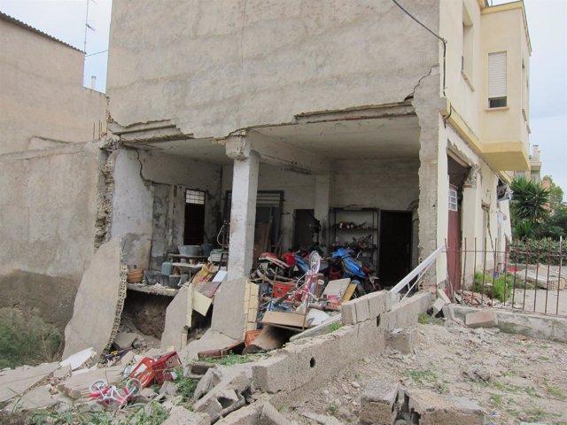 Inmueble Afectado Por El Terremoto De Lorca