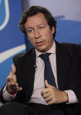 El Vicesecretario De Organización Del PP, Carlos Floriano