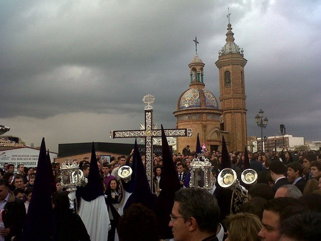 La Estrella, En La Calle, El Domingo De Ramos De 2012