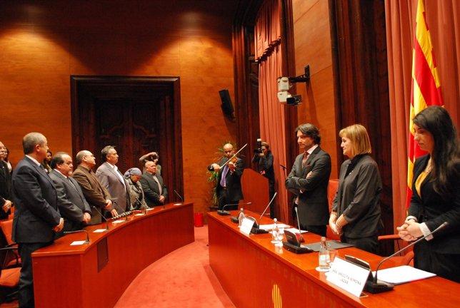 El Parlament Conmemora El Día Del Pueblo Gitano