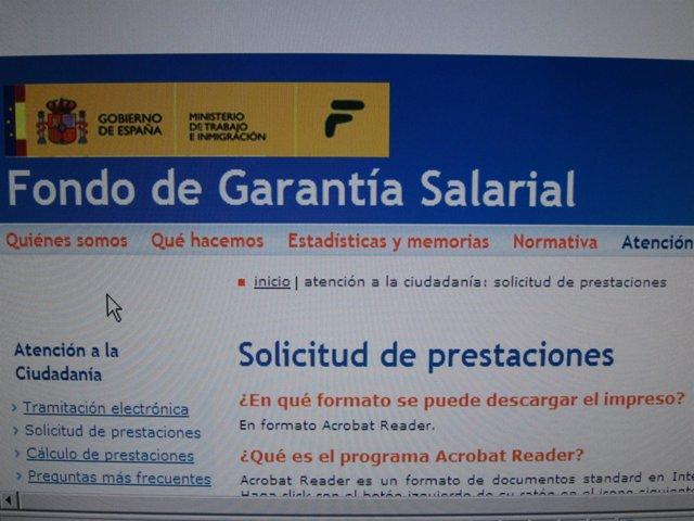 Página Web Del Fogasa