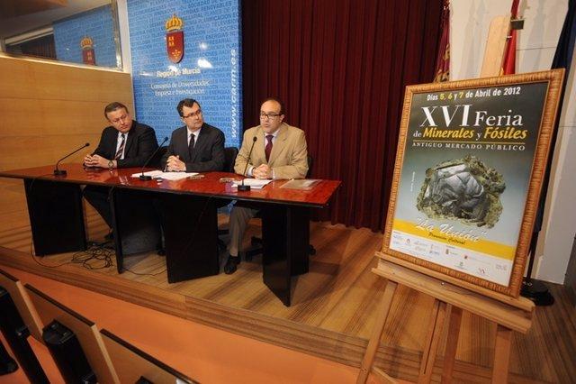 Presentación De La XVI Feria De Minerales Y Fósiles De La Sierra Minera
