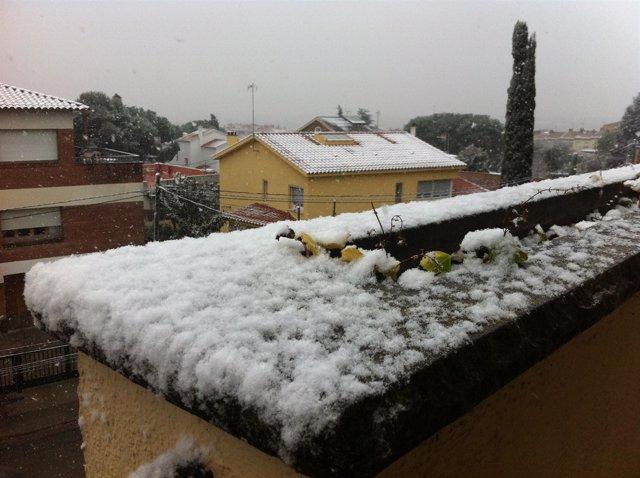 Nieve, Temporal,