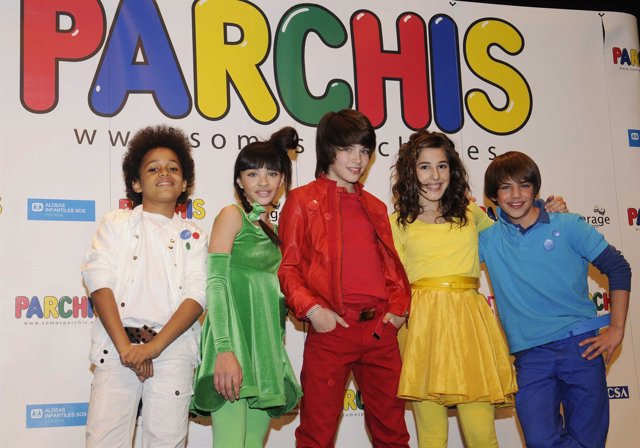 El Grupo Musical Infantil Parchís
