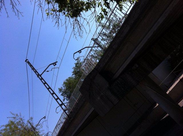 Infraestructuras Ferroviarias En Sant Cugat Del Vallès.