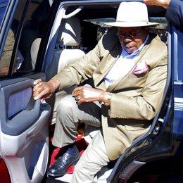 El presidente de Malaui, Bingu wa Mutharika