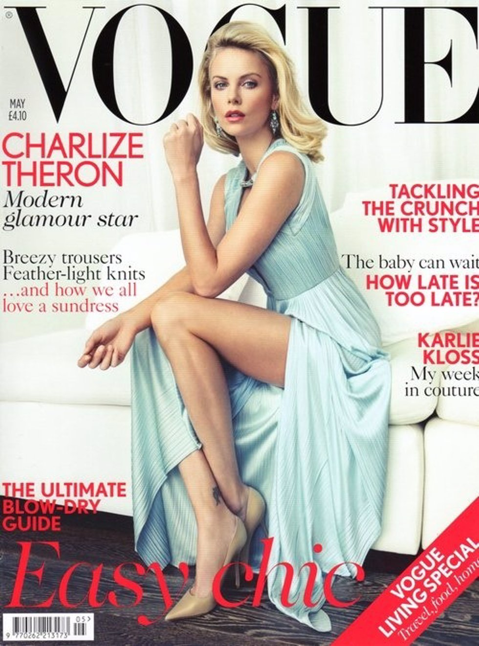 Charlize Theron En La Portada De Vogue