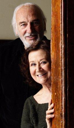 Héctor Alterio y Julieta Serrano