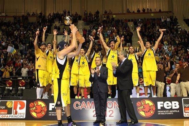 Iberostar Canarias Nuevo Equipo ACB Tras Ganar La Adecco Oro