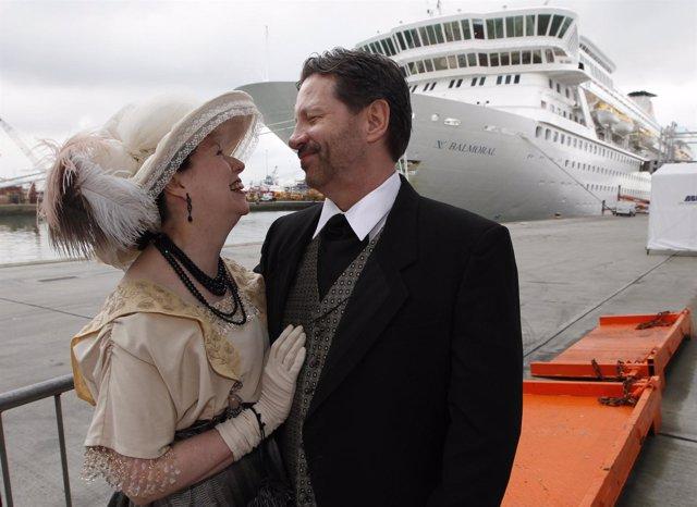 Crucero Recrea El Recorrido De El Titanic