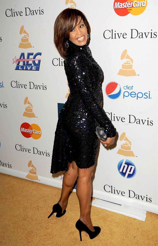 Whitney Houston En Un Photocall