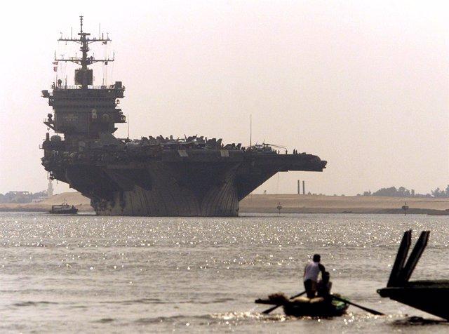 Portaaviones 'USS Enterprise'