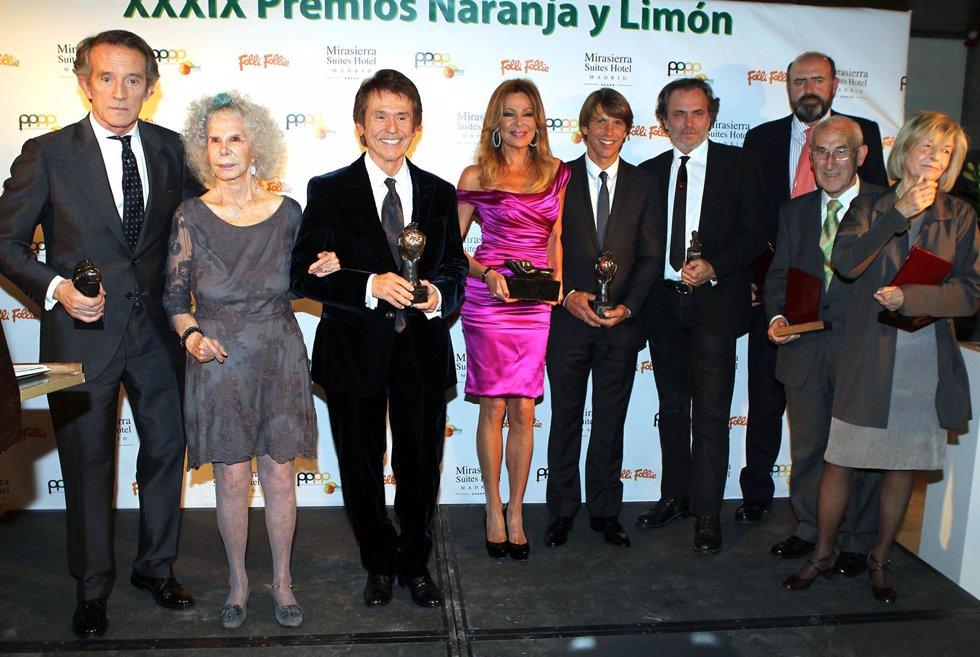 Los Premios Naranja Y Limón
