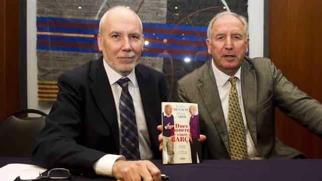 Màrius Carol Y Carles Rexach, En La Presentación De Su Libro