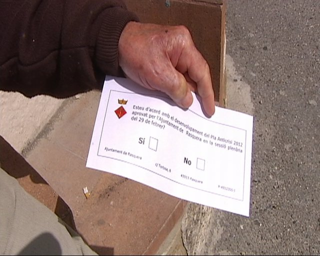 Referéndum en Rasquera por la plantación de marihuana