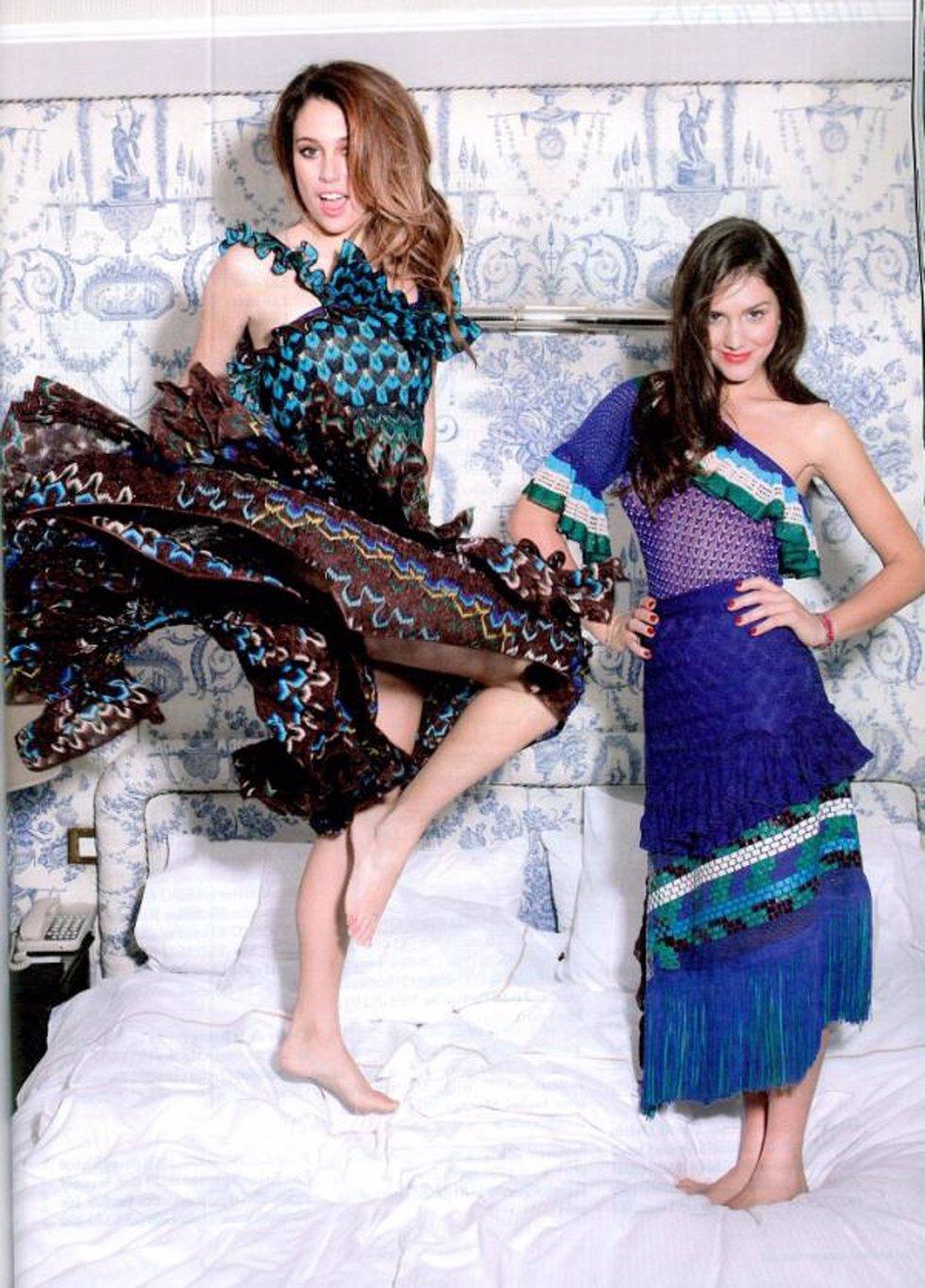 Blanca Suárez Y Margherita Missoni Para Harper's Bazaar