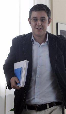 El Secretario General Del Grupo Socialista, Eduardo Madina