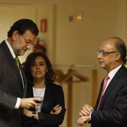 Rajoy, Soraya Y Montoro
