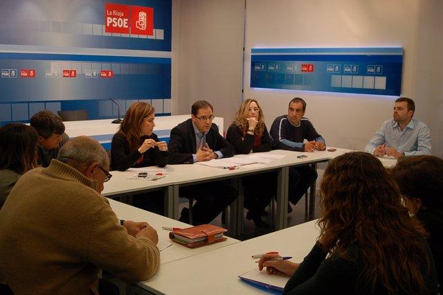 Reunión Del PSOE Con Alcaldes Y Concejales Del Área Metropolitana