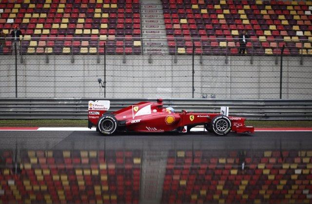 Fernando Alonso (Ferrari) En China