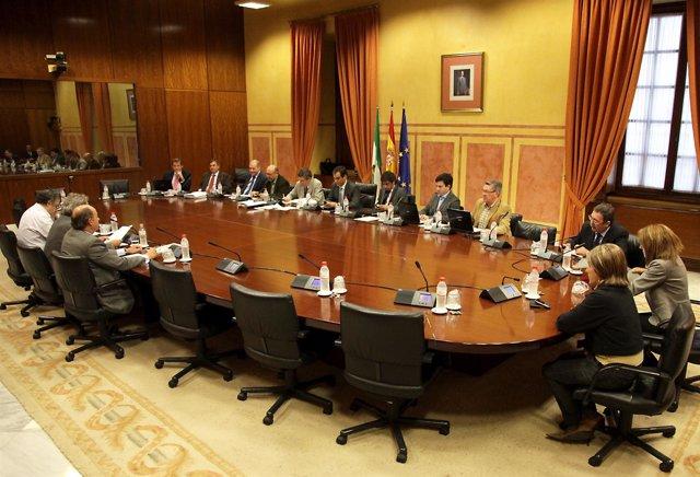 Comparecencia De Agentes Sociales En El Parlamento Sobre Los Presupuestos