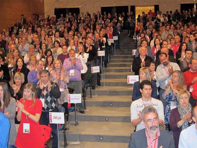 Asistentes Al XII Congreso Autónomico Del PSOE