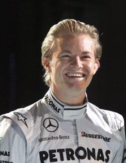 El piloto alemán Nico Rosberg (Mercedes GP)