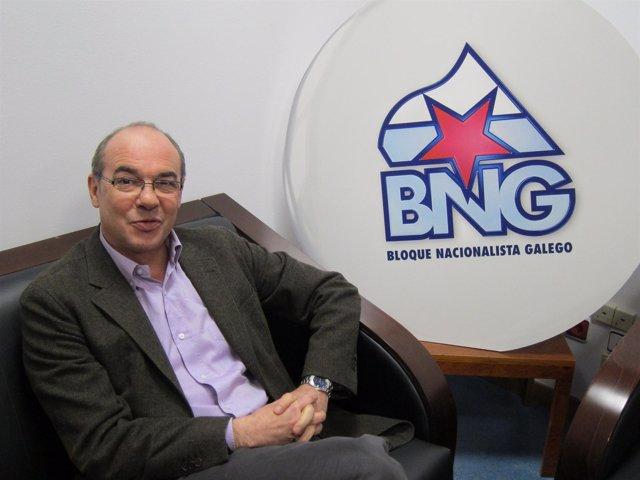 Francisco Jorquera, Candidato Del BNG A La Presidencia De La Xunta