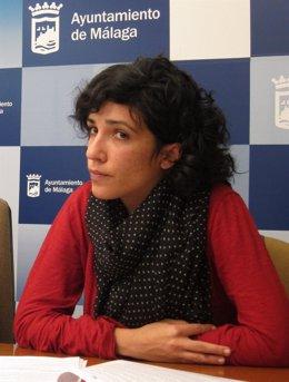 La Concejala De IU En El Ayuntamiento De Málaga Toni Morillas