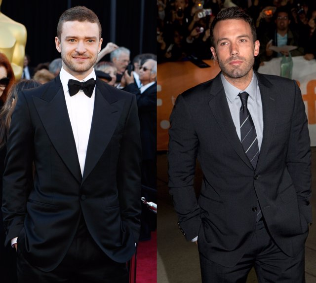 Montaje De Justin Timberlake Y Ben Affleck