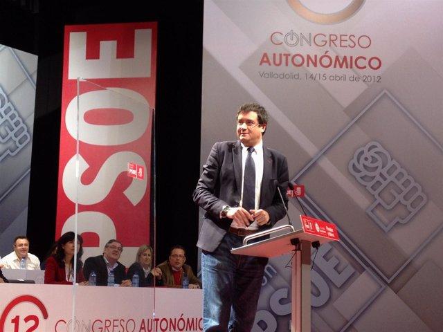 López Interviene En El XII Congreso Autonómico Del PSOE De Cyl