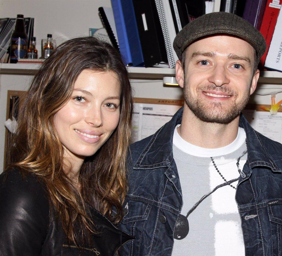 Jessica Biel Y Justin Timberlake En 2010