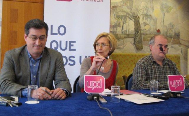 En El Centro, La Portavoz De Upyd En El Congreso, Rosa Díez, Hoy En Sevilla