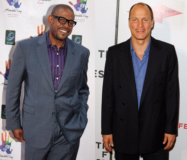 Montaje De Forest Whitaker Y Woody Harrelson
