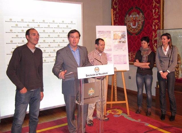 Presentación De La II Marcha Provincial De Senderismo