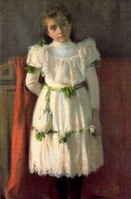 'Retrat De La Nena Sardà', De Ramon Casas