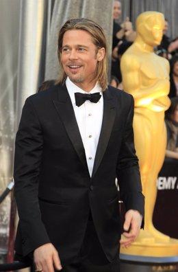 Brad Pitt En La Gala De Los Premios Oscar 2012