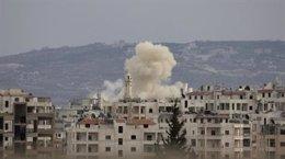Edificios Sirios Bombardeados